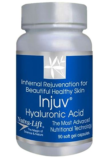 Picture of Injuv Hyluronic Acid Natures Lift – 90 soft gels