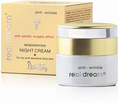 Picture of  REAL DREAM – SNAKE LIFTING   Regenerating anti-wrinkle night cream for Dry and Sensitive Skin  50 ML