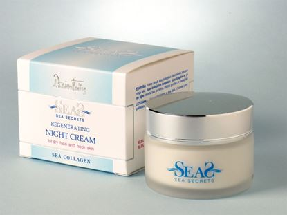 Picture of SEASECRETS Regenerating night cream for dry and sensitive skin for the face and neck 50 ml.